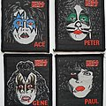 Kiss Original solo woven patches