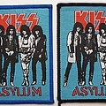 KISS Asylum woven patches