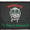 Motorhead Original No Sleep 'til Hammersmith woven patch