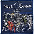 Black Sabbath Original Live Evil woven patch
