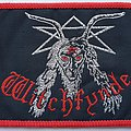 WITCHFYNDE Old woven patch