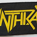 Anthrax 1986 printed strip patch