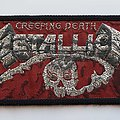 Metallica Creeping Death mini strip Patch