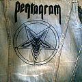 Pentagram denim vest Battle Jacket