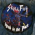 Skull Fist - Round Backpatch