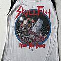 Skull Fist - European Tour Shirt 2011