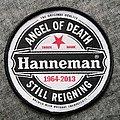 Slayer - Patch - Slayer - Jeff Hanneman Tribute Patch