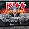 Kiss - Lick It Up Tour Patch