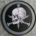 Iron Bonehead -  Skull And Dagger Patch