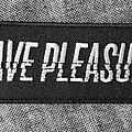 Grave Pleasures - Patch - Grave Pleasures - Logo Patch