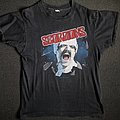 Scorpions Blackout America Tour Shirt 1982