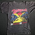 Whitesnake Saints & Sinners European Tour Shirt 1983