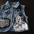 My very young daughter BATTLE JACKET!