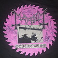 """Mayhem - TShirt or Longsleeve - MAYHEM """"North American Tour/Deathcrush"""" band shirt (signed)"""