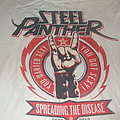 "STEEL PANTHER ""Spreading the Disease"" 2013 American Tour band shirt"
