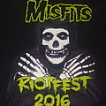 "MISFITS ""Riotfest 2016/Chicago Sept 18th"" Tour shirt A"