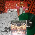 """Agoraphobic Nosebleed """"Honky Reduction"""" limited green 100 press w/7inch"""