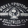 "STEEL PANTHER ""Spreading the Disease (STD)"" 2014 Brixton/UK Tour band shirt"