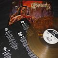 """GRUESOME """"Savage Land/Maryland Deathfest exclusive"""" LP limited beer colored vinyl."""