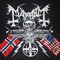 "MAYHEM ""25 Year/North American Tour"" 2009 band shirt"