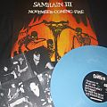 "Samhain ""November Coming Fire"" 2015 colored vinyl baby blue german reissue Plan 9 Lp"