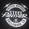 "STEEL PANTHER ""Fanther Worldwide"" 2014 fan club shirt (signed backside)"