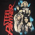 "STEEL PANTHER ""Balls Out World Tour "" 2012 band shirt"