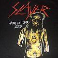 "Slayer - TShirt or Longsleeve - SLAYER ""World tour 2013"" bootleg?? band shirt"