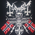 "MAYHEM ""25 Year Anniversary/From Chaos to Eternal Darkness"" 2009 band shirt"
