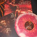 """Skinless """"Only the Ruthless Remain"""" Lava color vinyl LP limited 400"""