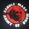 """CANDLEMASS """"Army of Doom""""  2006 official band shirt"""