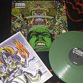 "Agoraphobic Nosebleed - Tape / Vinyl / CD / Recording etc - AGORAPHOBIC NOSEBLEED ""Agorapocalypse Now"" limited LP 500 green vinyl"