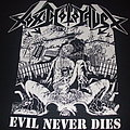 "TOXIC HOLOCAUST ""Evil Never Dies"" earlier large print-2006"