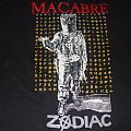"""Macabre """"Zodiac"""" early 1990s Sinister Slaughter Era band shirt"""