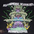 "AGORAPHOBIC NOSEBLEED ""Agoraphobic Now"" shirt/LP/longbox CD plus 24X36 poster"