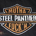 "TShirt or Longsleeve - STEEL PANTHER ""MUTHA FUCKIN'/HARLEY DAVIDSON"" band shirt METAL SHOP/METAL SKOOL ""HOLE PATROL"" original 2003/2005 eps"