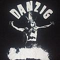 """Danzig - TShirt or Longsleeve - DANZIG """"Uncensored/crucified"""" Gilden bootleg band tour shirt"""
