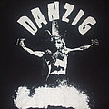"DANZIG ""Uncensored/crucified"" Gilden bootleg band tour shirt"