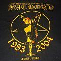 "BATHORY ""Bathory/Quorthon (Tomas Forsberg) Tribute 2004"" band shirt"