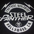 """STEEL PANTHER """"Fanther Worldwide"""" 2014 fan club shirt"""
