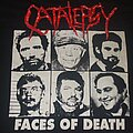 """CATALEPSY """"Faces of Death"""" 1991 demo band shirt"""
