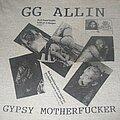 "GG Allin - TShirt or Longsleeve - GG ALLIN ""The Murder Junkies Tour"" 1991 band shirt"