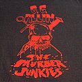 "GG ALLIN AND THE MURDER JUNKIES ""Terror in America 1993"" 2004 reprint tour shirt"