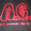 """ANAL CUNT AXCX """"20 Year Anniversary"""" 2006/2008 hoodie"""