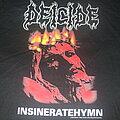 "Deicide - TShirt or Longsleeve - DEICIDE ""Insineratehymn"" 2000 longsleeve Bluegrape band shirt"