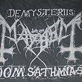 """Mayhem - TShirt or Longsleeve - MAYHEM """"Cine-Teatro de Corroios"""" 2011 2 date Portugal Tour shirt"""