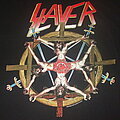 "Slayer - TShirt or Longsleeve - SLAYER ""Crucified Demon"" 1994 Brockum tour shirt."