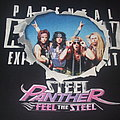 "STEEL PANTHER ""Feel the Steel/Parental Advisory"" Radio Promo variant shirt"