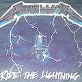 "Metallica - TShirt or Longsleeve - METALLICA ""Ride the Lightning/Bravada""  2020 reissue reprint shirt"