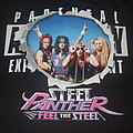 "STEEL PANTHER ""Feel the Steel/Parental Advisory"" 2009 band shirt"